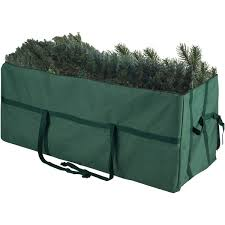 Elf Stor Heavy Duty Canvas Large Christmas Tree Storage Bag For 9 Foot
