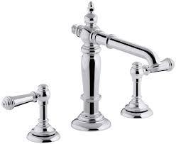 Kohler Tresham Pedestal Sink Specs by Kohler K 98068 4 Cp Artifacts Bathroom Sink Lever Handles Less