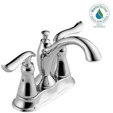 Glacier Bay Bathroom Faucets Instructions by Glacier Bay Aragon 4 In Centerset 2 Handle Low Arc Bathroom