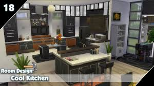 the sims 4 room design cool kitchen youtube