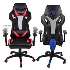 Video Gaming Chair Racing PU Seat Adjustable Mesh Highback ... 10 Best Ps4 Gaming Chairs 2018 Get The Ultimate Experience Walmart Deals On Tvs Xbox One Controller Cord X Rocker Extreme Iii Video With Speakers 5149101 Xpro 300 Black Pedestal Chair Builtin Pro Series Wireless Handson Secretlab Omega And Titan Sessel Test Game 5172101 Fniture Using Stylish Design Of For Office Canada At