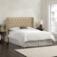 Skyline White Tufted Headboard by Tufted Wingback Headboard King Tufted Headboard Tufted Headboards