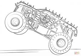 100 Dinosaur Monster Truck Coloring Pages Happy Max Page Free Top D Letter
