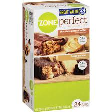 Zone Perfect Nutrition Bar Variety Pack 176 Oz 24 Ct