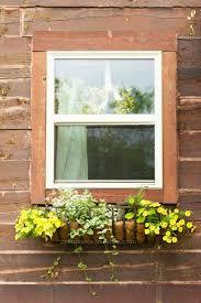 Rustic Window Flower Box