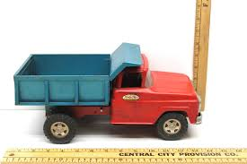 Vintage 1950's Tonka Toys Dump Truck Pressed And 50 Similar Items Awesome Original Restored Vintage 1950 Tonka Shell Tow Truck Trucks Lookup Beforebuying 1968 Mighty Scraper New In Box Toy And Tin Toys Trucks Tractors 3 1960s Toys Service Vintage Tonka Collectors Weekly Things I Cant Diecast Panel Site New Custom Modified Rare Limited Kyles Kinetics Lot Of 2 Metal Snorkel Fire No 34 Similar Items 1950s Dump Pressed 50