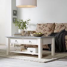 maison belfort couchtisch valmer ii massivholz kiefer grau weiß landhaus 110x45x60