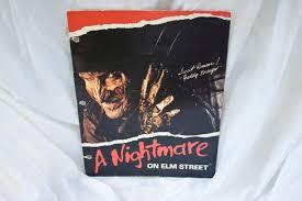 Printable Freddy Krueger Pumpkin Stencils by 80s Freddy Krueger Folder Vintage Nightmare On Elm Street Binder