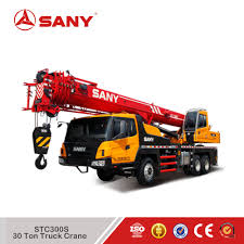 Sany Stc300s Truck Mounted Crane 30 Ton Mobile Crane Price - Buy 30 ...