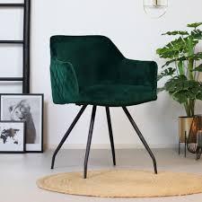 esszimmerstuhl samt nelly mit armlehne grün kauf auf rechnung