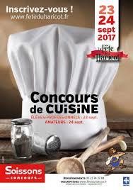 concours de cuisine concours de cuisine gastronomique fête du haricot