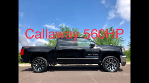 Lifted Callaway 2018 Silverado Super Truck Has 560HP Retains GM Warranty