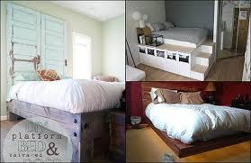 15 diy platform bed ideas home and gardening ideas