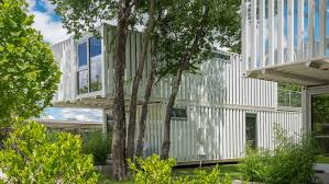 100 Modular Container House AHMM Unveils Shippingcontainer Housing Development In Oklahoma