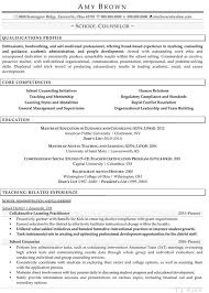 Professional School Counselor Resume Guidance Sample Elementary Middle