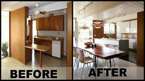 Before After 1960s Kitchen Reno