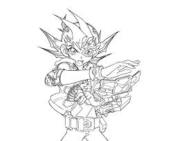 Yu Gi Oh 71 Cartoons Printable Coloring Pages
