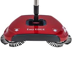 Electric Broom For Hardwood Floors by Easyedge Lightweight Hard Floor Sweeper Page 1 U2014 Qvc Com