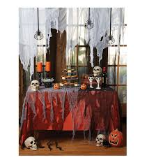 Grandin Road Halloween Mantel Scarf by Accentuate Your Spooky Haunted Decor Using The Makers Halloween