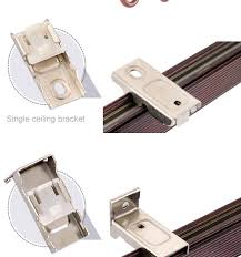 Ceiling Mount Curtain Track Bendable by Curtain Track Ceiling Brackets Scandlecandle Com