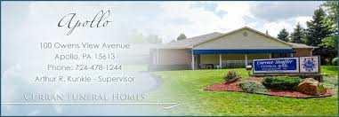 Curran Funeral Homes • Apollo Saltsburg Vandergrift Leechburg
