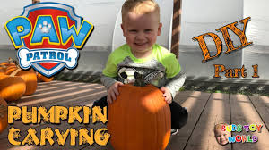 Easy Shark Pumpkin Carving by Paw Patrol Diy Pumpkin Picking And Carving Easy Kids How To