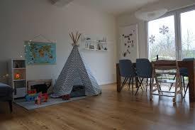spielecke im wohnzimmer palmgrün kinderspielecke