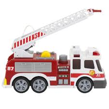 Fast Lane Action Wheels Fire Truck - Toys