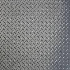 Foam Tile Flooring With Diamond Plate Texture by G Floor Raceday 24 In X 24 In Peel And Stick Diamond Tread Slate