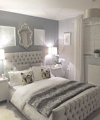 Bold Touches In A Gray Bedroom