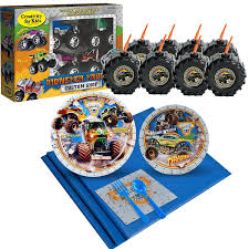 Monster Jam Ultimate Experience Party Supplies Pack For 8 By ... Monster Truck Party Ideas At Birthday In A Box Truck Party Tylers Monster Cars Cakes Decoration Little 4pcs Blaze Machines 18 Foil Balloon Favor Supply Jam Ultimate Experience Supplies Pack For 8 By Bestwtrucksnet Amazoncom Empty Boxes 4 Toys Blaze Cake Decorations Deliciouscakesinfo Decorations Beautiful And The Favour Bags Decorationsand Cheap Cupcake Toppers Find Sweet Pea Parties