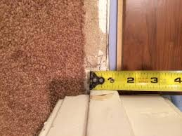 Laminate Floor Transitions Doorway by How To Deal With This Laminate Door Transition Carpet Issue