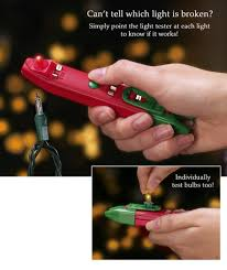 Bethlehem Lights Christmas Trees Troubleshooting by Amazon Com Christmas Light Tester Home U0026 Kitchen
