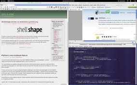 Tiling Window Manager Ubuntu by Shellshape Gnome Shell Extensions