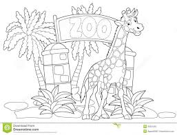 Adult Coloring Pages Zoo Page Printable Images Animal Pr