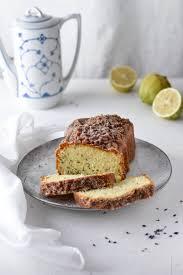 lavendel zitronen kuchen mit joghurt perfekt zur teezeit