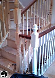 How To Calculate Spindle Spacing How To Calculate Spindle Spacing Install Handrail And Stair Spindles Renovation Ep 4 Removeable Hand Railing For Stairs Second Floor Moving The Deck Barn To Metal Related Image 2nd Floor Railing System Pinterest Iron Deckscom Balusters Baby Gate Banister Model Staircase Bottom Of Best 25 Balusters Ideas On Railings Decks Indoor Stair Interior Height Amazoncom Kidkusion Kid Safe Guard Childrens Home Wood Rail With Detail Metal Spindles For The