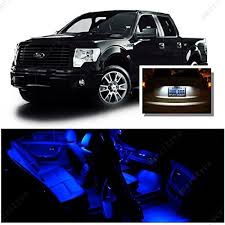 ameritree ford f150 2009 2014 9 pcs blue led lights