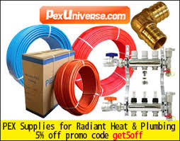 Hydronic Radiant Floor Heating Supplies by Pex Universe Directory Ac