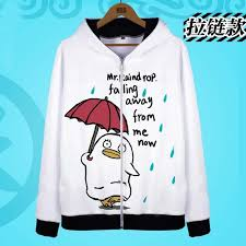 Gintama Hoodies Jackets Anime Silver Soul Cosplay Costumes Elizabeth Coat Sweatshirts