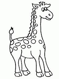 Giraffe Coloring Pages Printable Getcoloringpages
