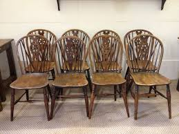 Antique Windsor Wheelback Chairs | ENGLAND | Antique Dining Chairs ...