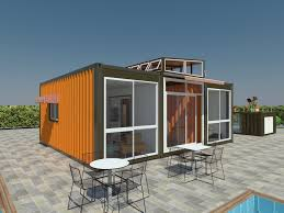 100 Modular Shipping Container Homes 40 Feet Luxury Prefabricated House