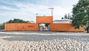 100 What Are Shipping Containers Made Of Solarpowered KontererART City In Poland Is Made Of Reused