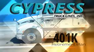 Cypress Truck Lines - Cypress-401K Plan On Vimeo Cypress Truck Lines Needs To Hire A Yard Job Fair Will Be Held At Fscjs Dtown Campus On Tuesday Wjct News Inc Jacksonville Fl Rays Photos Peoplenet Blu2 Elog Introduction Youtube Tnsiam Flickr 35 Southeast Facebook Lot Of 4 Snapback Hats Camouflage Red Blue Cypress Truck Lines Peterbelt Oct 2015 Orlando Florida Daniel Danny Guilli Jr Heavy And Medium Sales Kenworth Home Cypresstruck Twitter