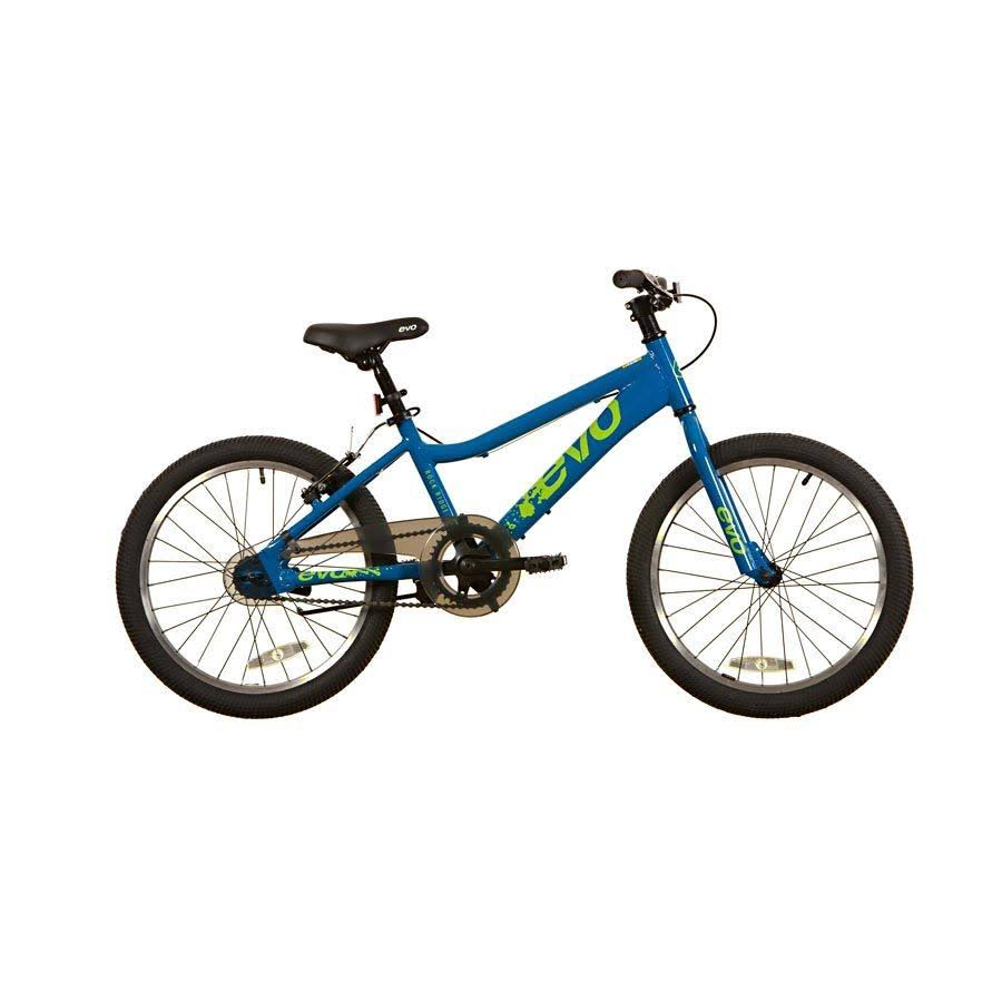 EVO Junior Rock Ridge 20 Bicycle - Big Blue & Neo Green