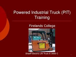 100 Powered Industrial Truck PPT PIT Training PowerPoint