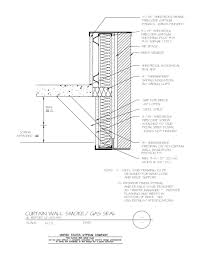 Kawneer Curtain Wall Cad Details by Curtain Wall Details Decorate The House With Beautiful Curtains