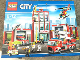 100 Lego Fire Truck Games City Set 60110 Station 2019 Toys Bricks