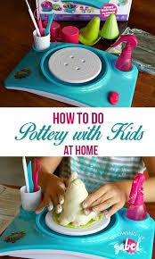 The Pottery Cool Wheel Makes Easy For Kids Activities Complete With
